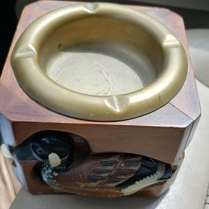 Fabulous vintage decoy ashtray